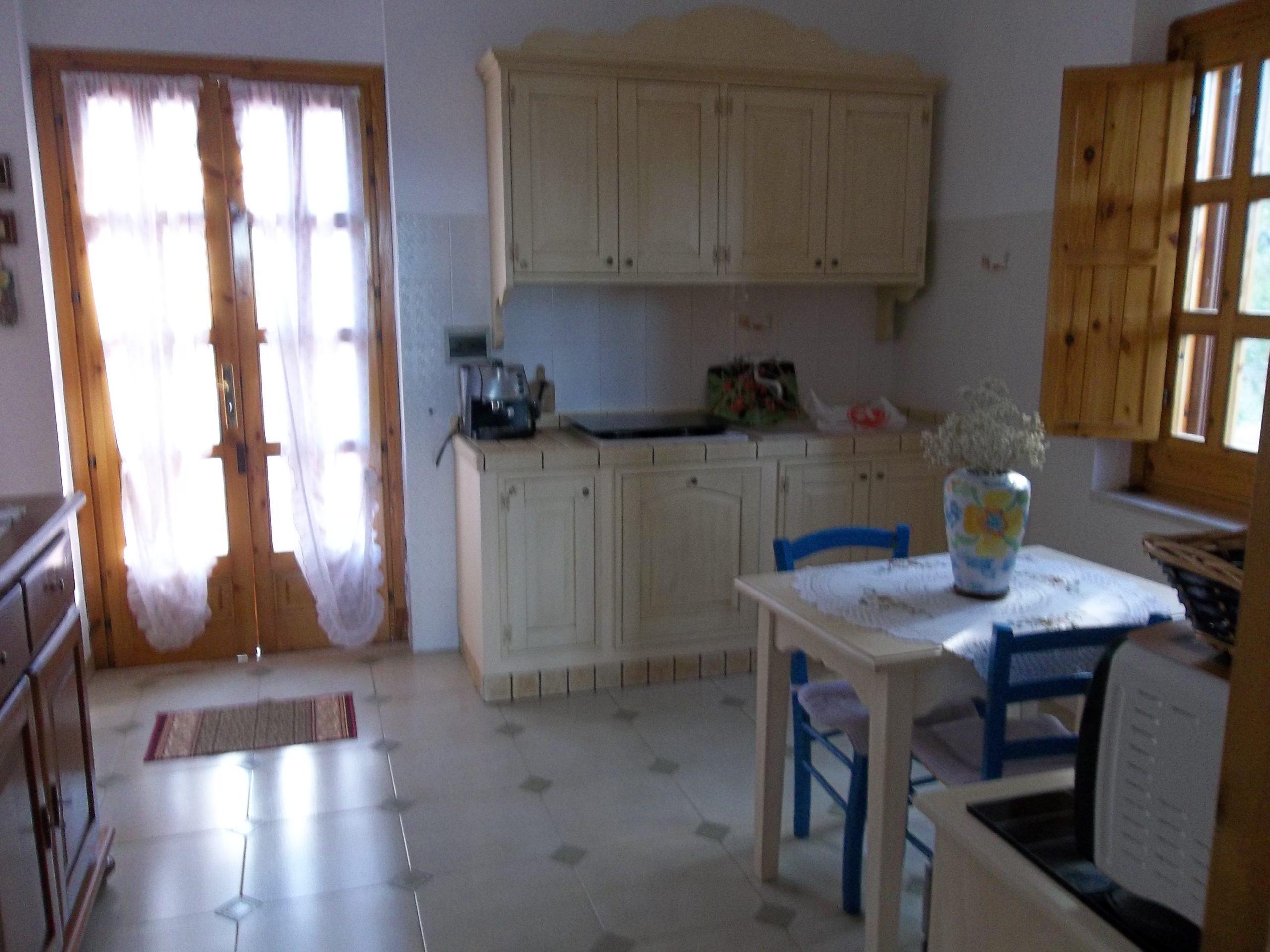 piano alto - cucina